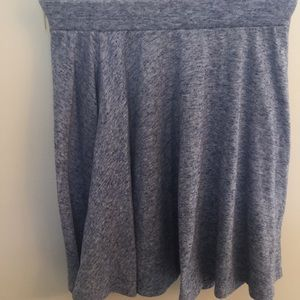 Pants - Heather blue skater skirt!  Cute! Size. XS.